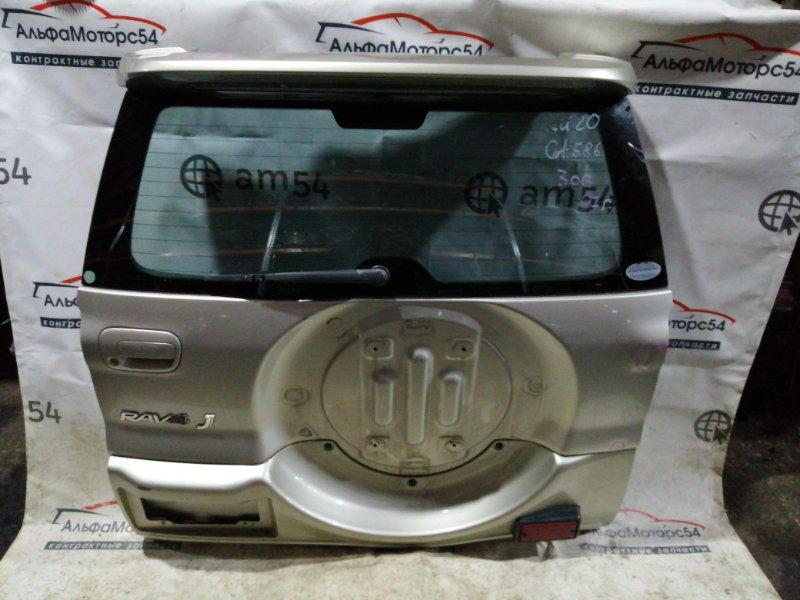 Дверь 5-я Toyota Rav4 ACA20W 1AZ-FSE 2001