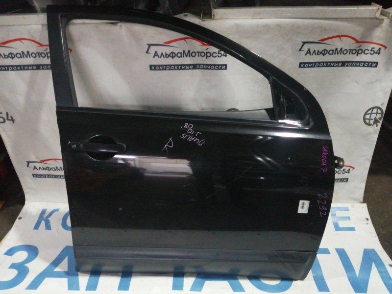 Дверь Nissan Qashqai J10 MR20DE 2008 передняя правая