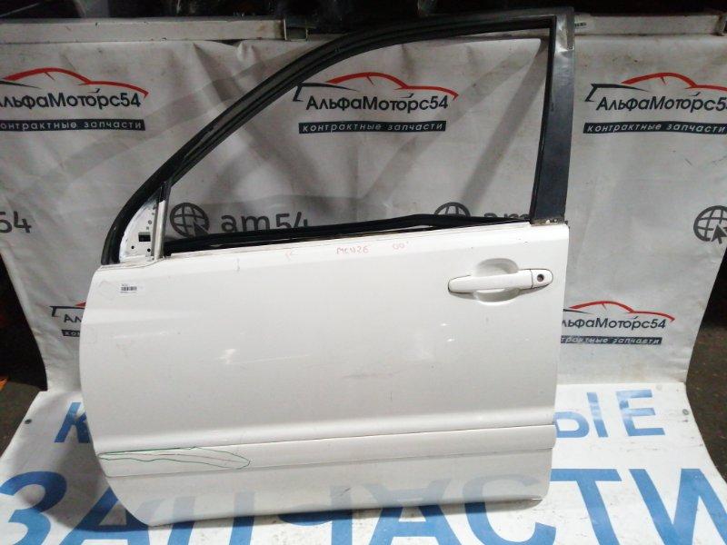 Дверь Toyota Kluger MCU25 1MZ-FE 2000 передняя левая
