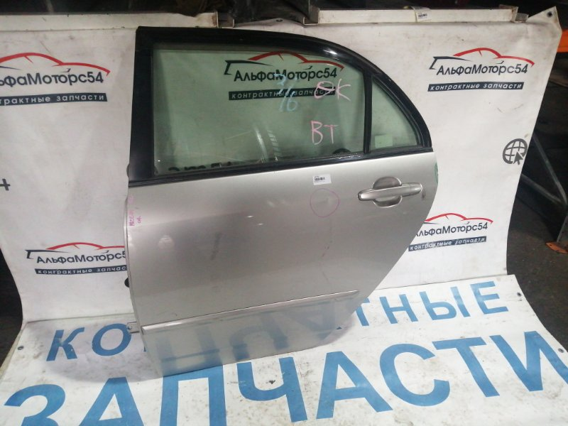 Дверь Toyota Corolla NZE121 1NZ-FE 2005 задняя левая