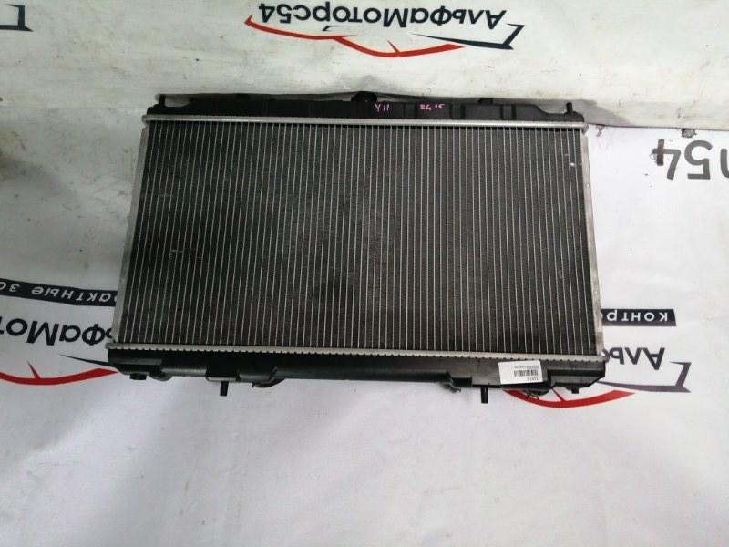 Радиатор основной Nissan Wingroad Y11 QG18DE 2006