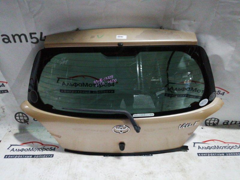 Дверь 5-я Toyota Vitz SCP10 1SZ-FE 2002