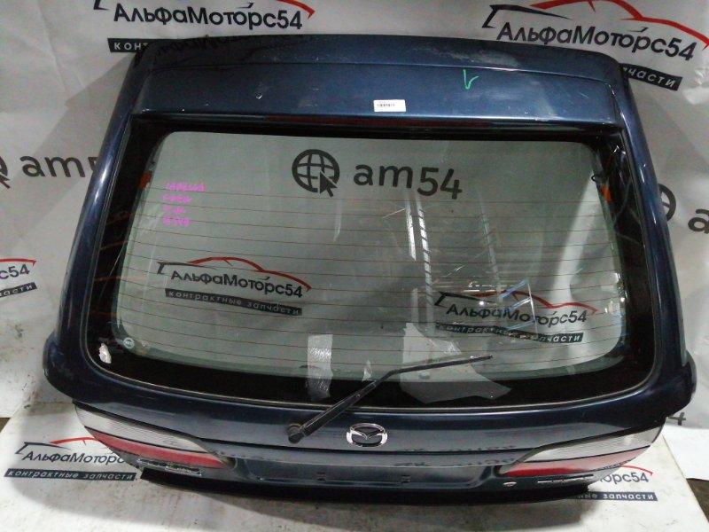 Дверь 5-я Mazda Capella Wagon GWEW FS-DE 2001