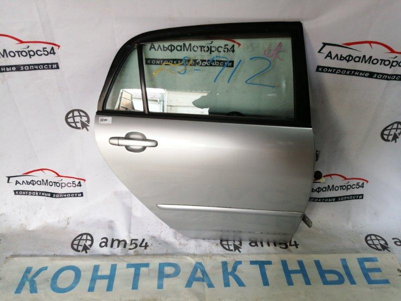 Дверь Toyota Corolla Runx NZE121 1NZ-FE 2001 задняя правая