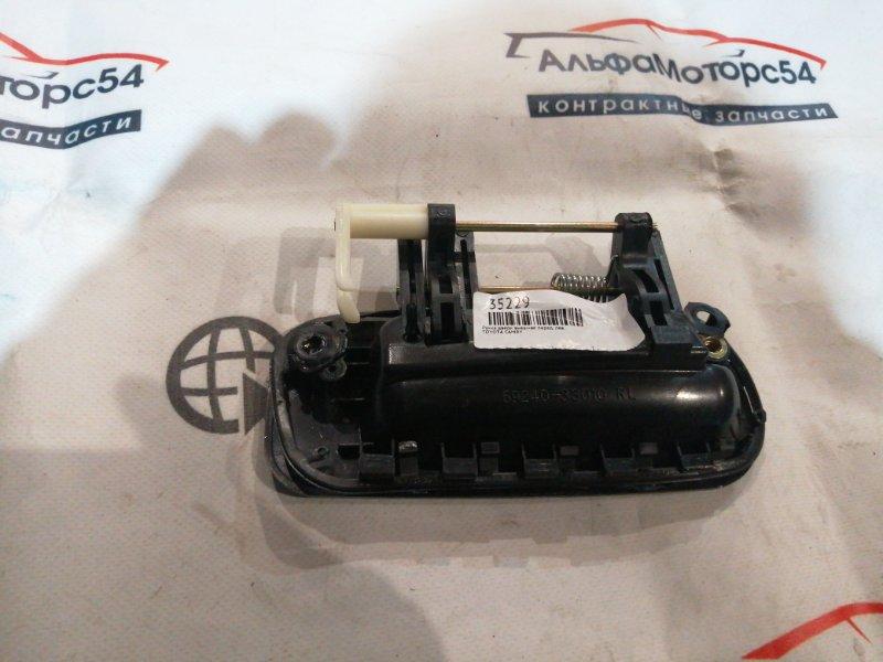 Ручка двери внешняя Toyota Camry SV30 4S-FE 1994 задняя левая
