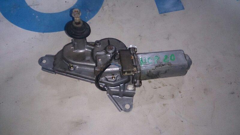 Мотор дворников Toyota Funcargo NCP20 задний