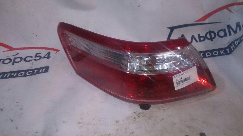 Стоп-сигнал Toyota Camry ACV40 2AZ-FE 2010 задний левый