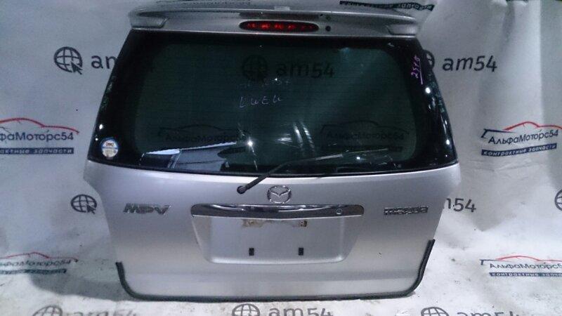 Дверь 5-я Mazda Mpv LW3W L3DE 2002