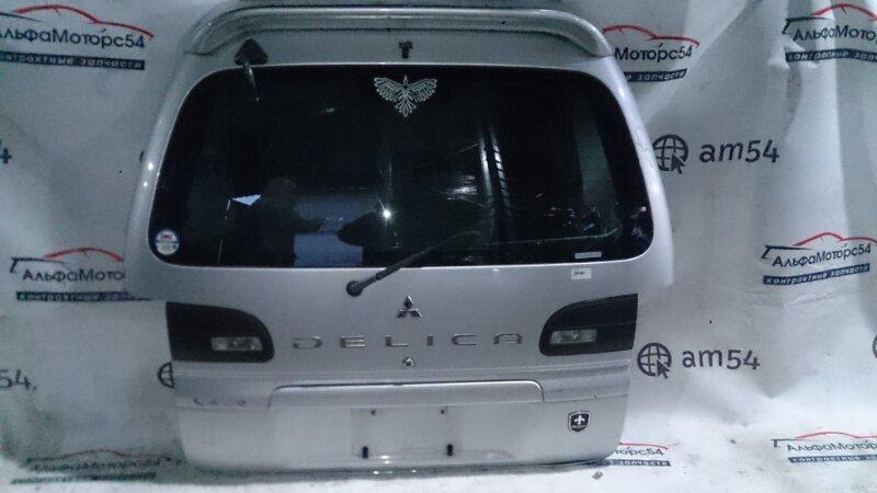 Дверь 5-я Mitsubishi Delica PD6W 6G72 задняя