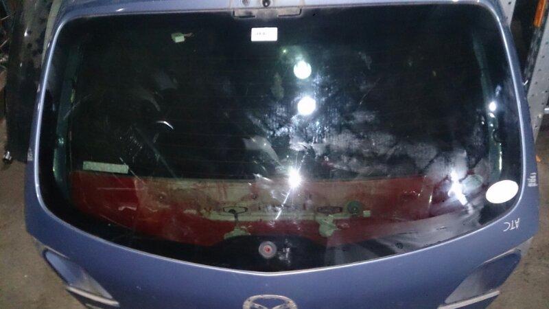 Стекло двери 5-й Mazda Axela BK5P LF-VE 2006
