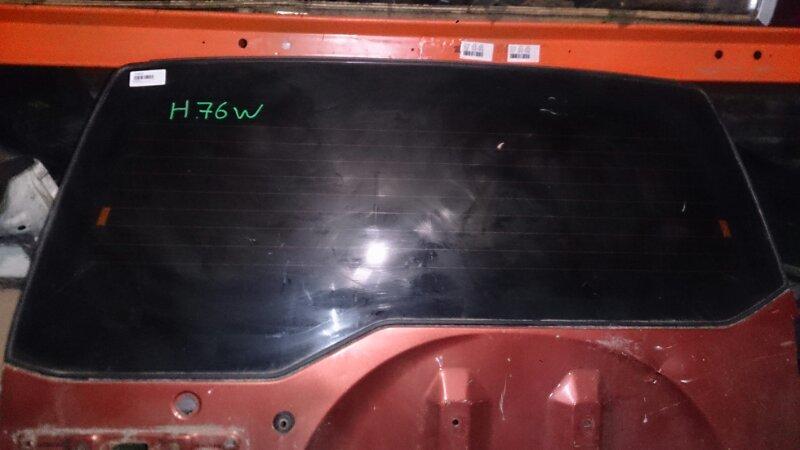 Стекло двери 5-й Mitsubishi Pajero Io H76 1998