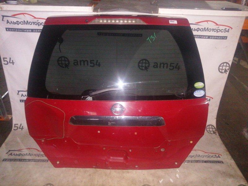 Стекло двери 5-й Nissan X-Trail T31 QR25DE 2009