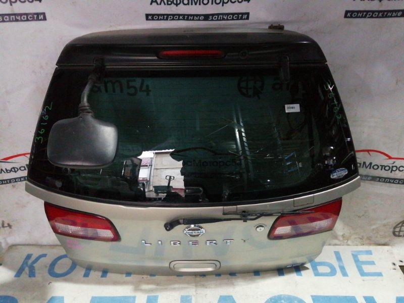 Дверь 5-я Nissan Liberty M12 QR20DE