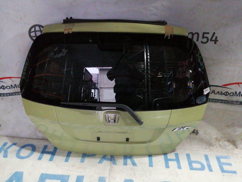 Дверь 5-я Honda Fit GD1 L13A