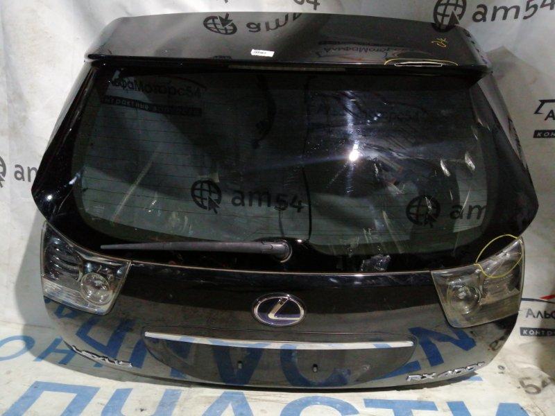 Дверь 5-я Lexus Rx330 MCU35 1MZ-FE 2005 задняя