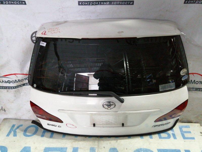 Дверь 5-я Toyota Ipsum ACM21 2AZ-FE 2002