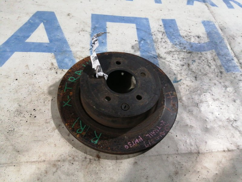 Тормозной диск Nissan X-Trail NT31 задний правый