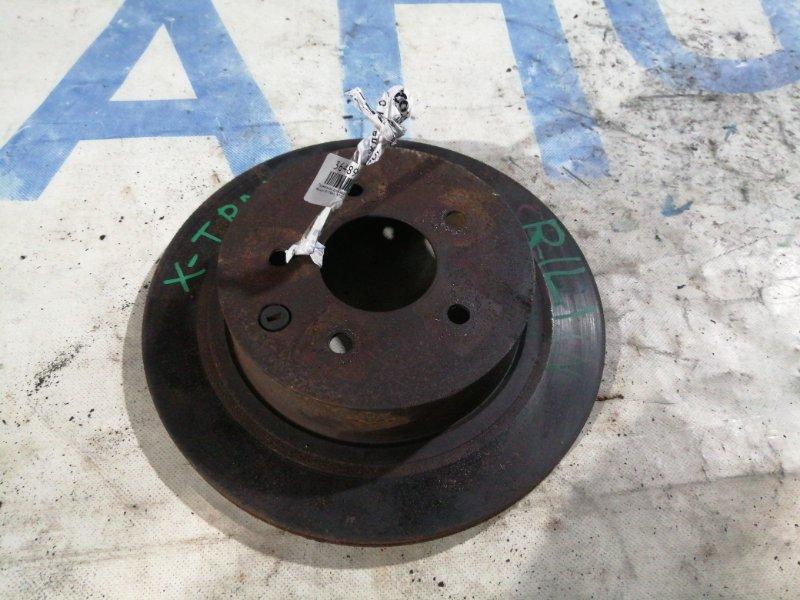 Тормозной диск Nissan X-Trail NT31 задний левый