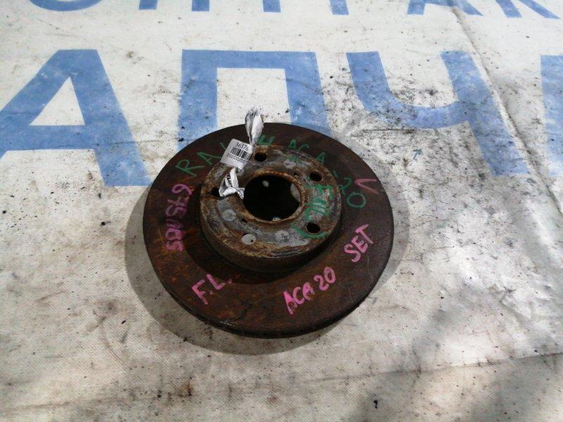Тормозной диск Toyota Rav4 ACA20W передний правый