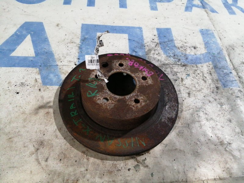 Тормозной диск Nissan X-Trail NT31 MR20DE задний левый