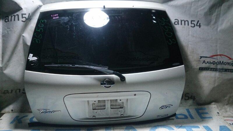 Дверь 5-я Nissan Tino V10 QG18DE 2001