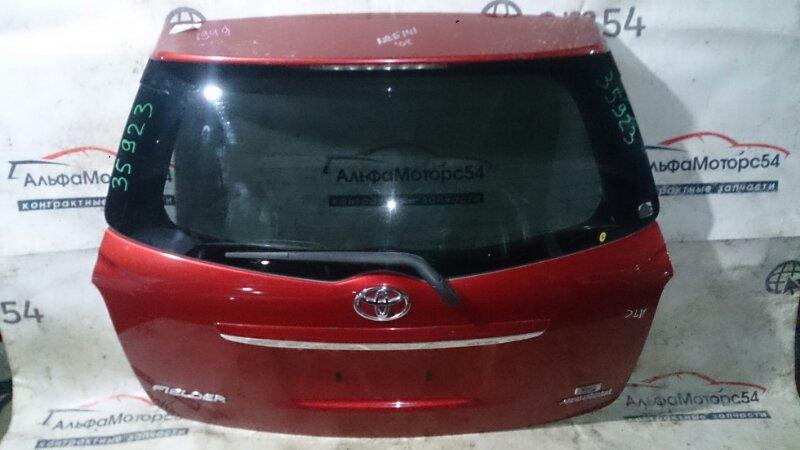 Дверь 5-я Toyota Corolla Fielder NZE141 1NZ-FE 2008