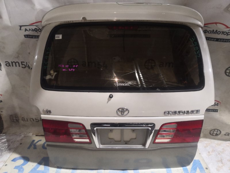 Дверь 5-я Toyota Grand Hiace VCH10 5VZ-FE 2001