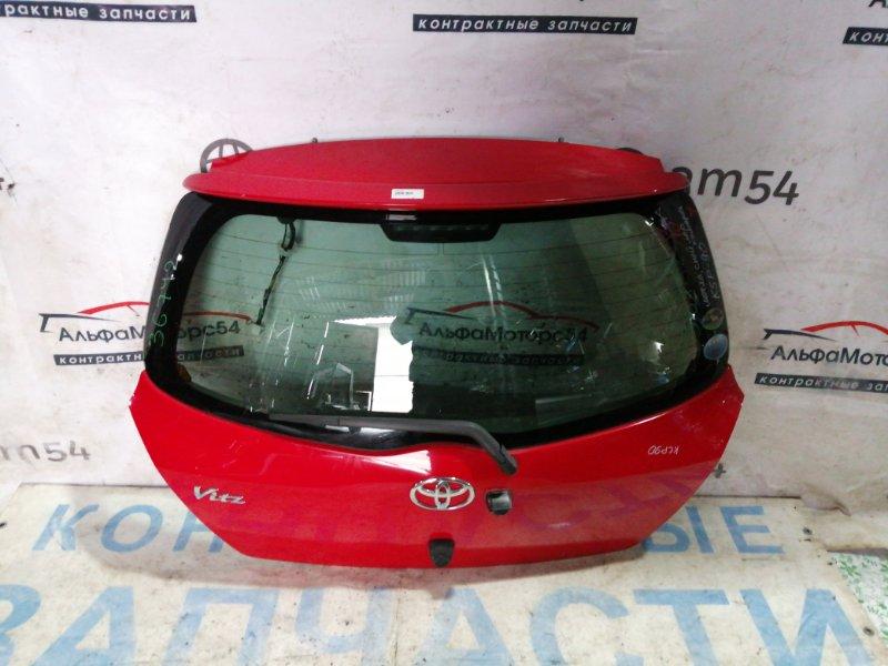Дверь 5-я Toyota Vitz KSP90 1KR-FE 2007