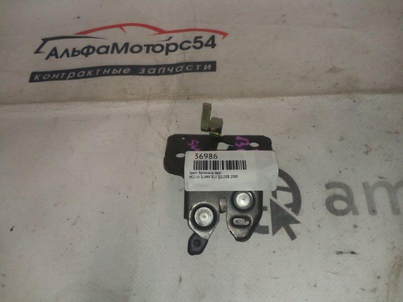 Замок багажника Nissan Sunny B15 QG15DE 2000 задний