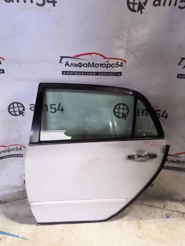 Дверь Toyota Allex NZE121 1NZ-FE 2002 задняя левая