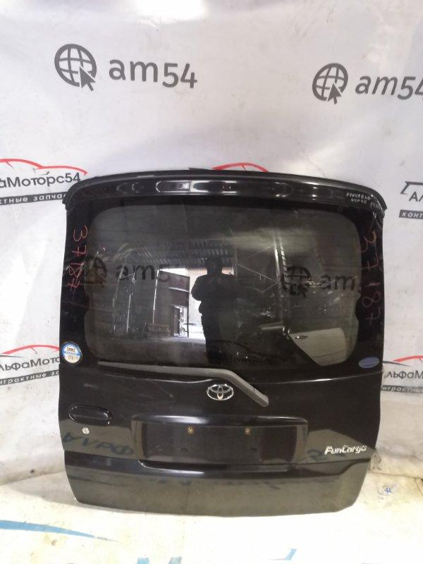 Дверь 5-я Toyota Funcargo NCP21 1NZ-FE 2001 задняя