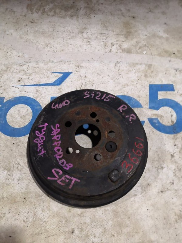 Тормозной барабан Toyota Caldina ST215 задний