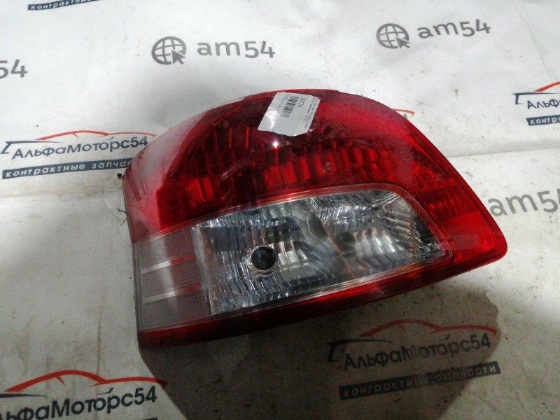 Стоп-сигнал Toyota Belta SCP92 2SZ-FE 2009 задний левый