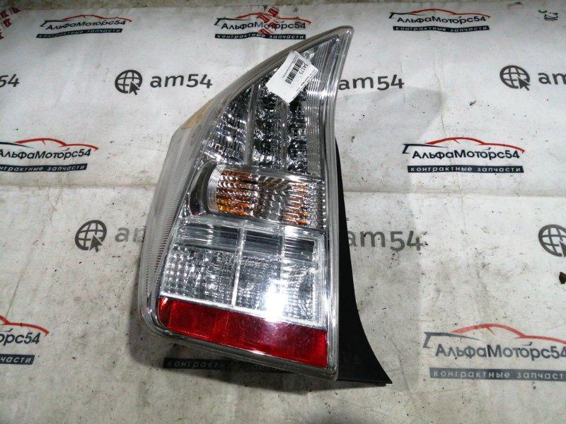 Стоп-сигнал Toyota Prius ZVW30 2ZR-FXE 2009 задний