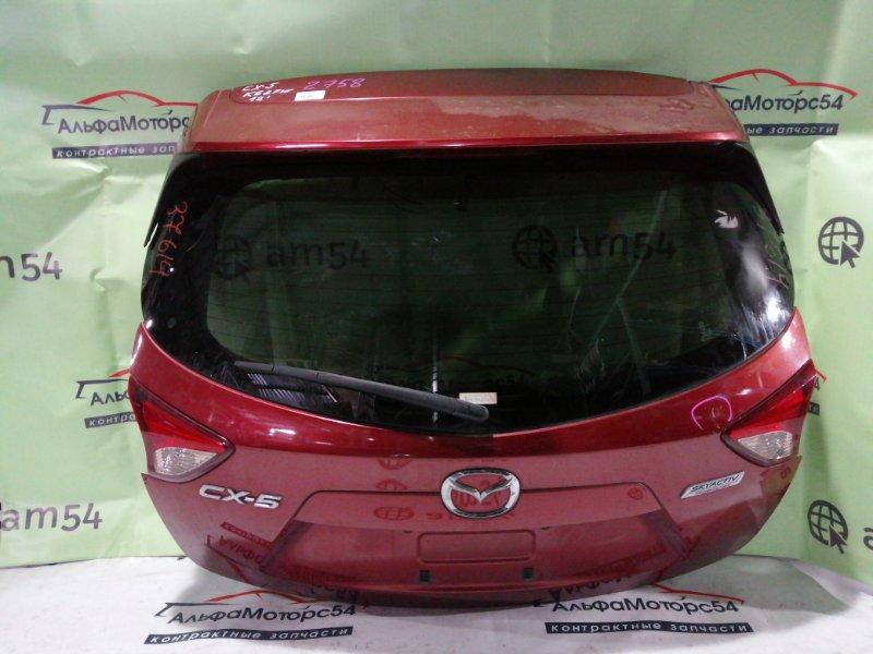 Дверь 5-я Mazda Cx-5 KE2FW SH-VPTS 2012