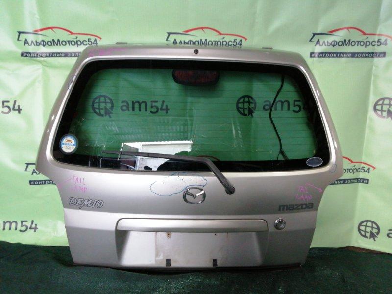 Дверь 5-я Mazda Demio DW3W B3 1998 задняя
