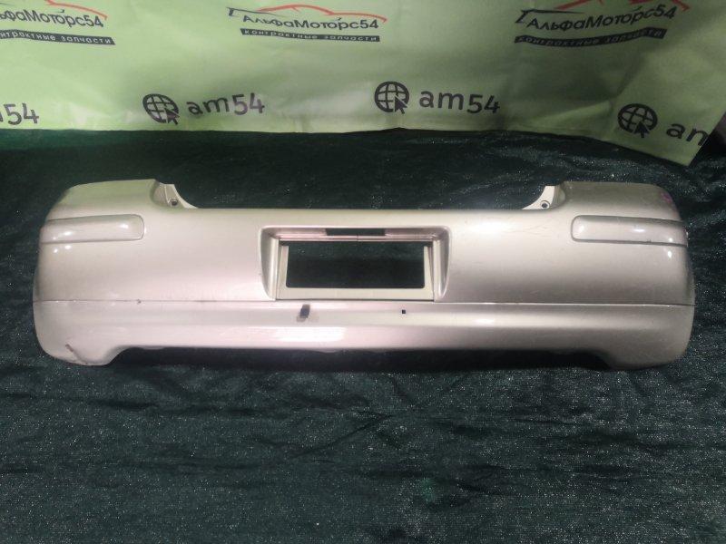 Бампер Toyota Vitz NCP13 1NZ-FE 2002 задний