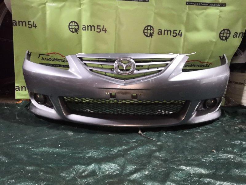 Бампер Mazda Atenza GY3W L3-VE 2003 передний