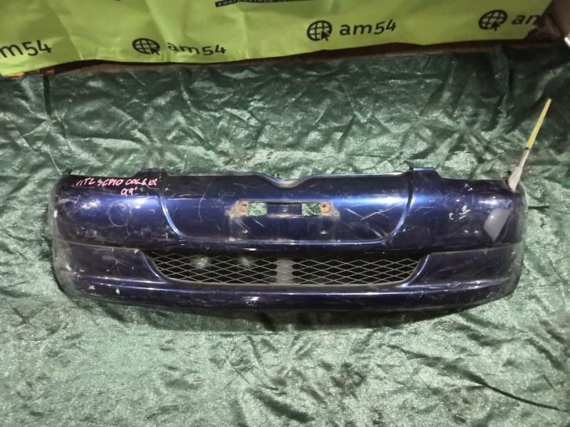 Бампер Toyota Vitz SCP10 1SZ-FE 1999 передний