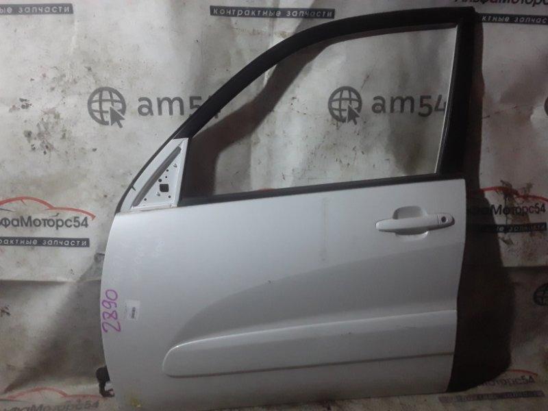 Дверь Toyota Rav4 ACA21W 1AZ-FSE 2002 передняя левая
