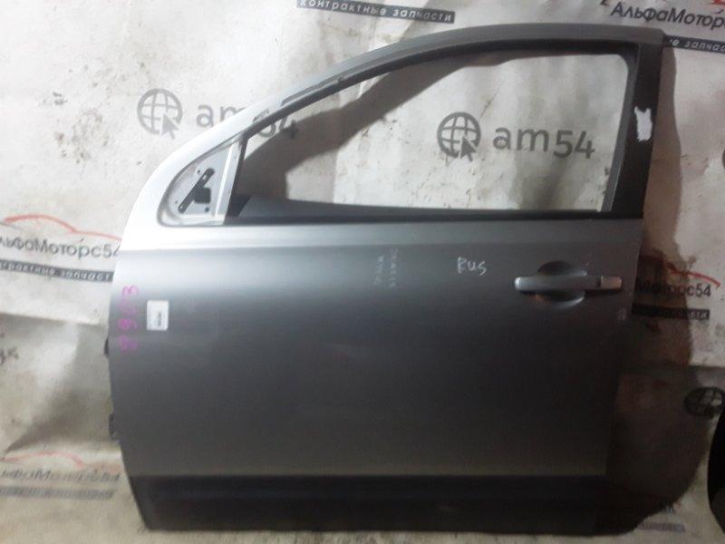 Дверь Nissan Qashqai J10 MR20DE 2010 передняя левая