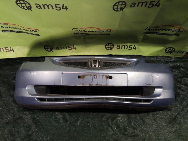 Бампер Honda Fit GD1 L13A 2002 передний