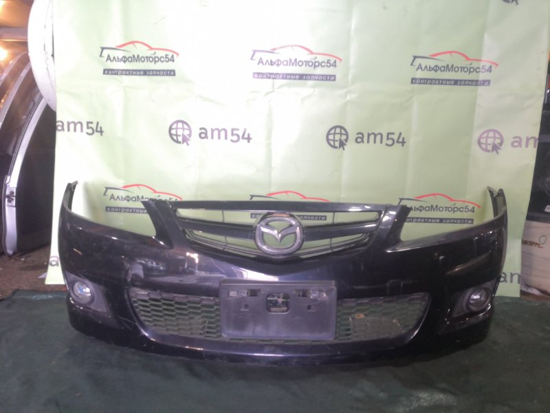 Бампер Mazda Atenza GG3S L3-VE 2005 передний