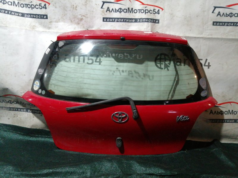 Дверь 5-я Toyota Vitz NCP10 1SZ-FE 2000
