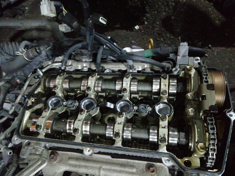Двигатель Toyota Corolla Fielder NZE141 1NZ-FE 2008