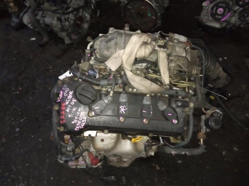 Двигатель Nissan Bluebird Sylphy G10 QG18DE 2003