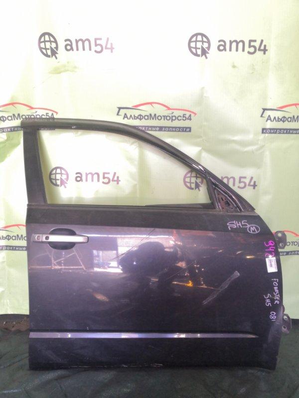 Дверь Subaru Forester SH5 EJ204 2008 передняя правая