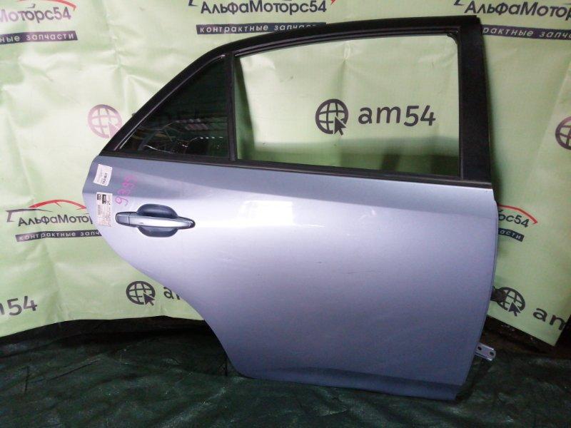 Дверь Toyota Allion ZRT260 2ZR-FE 2008 задняя правая
