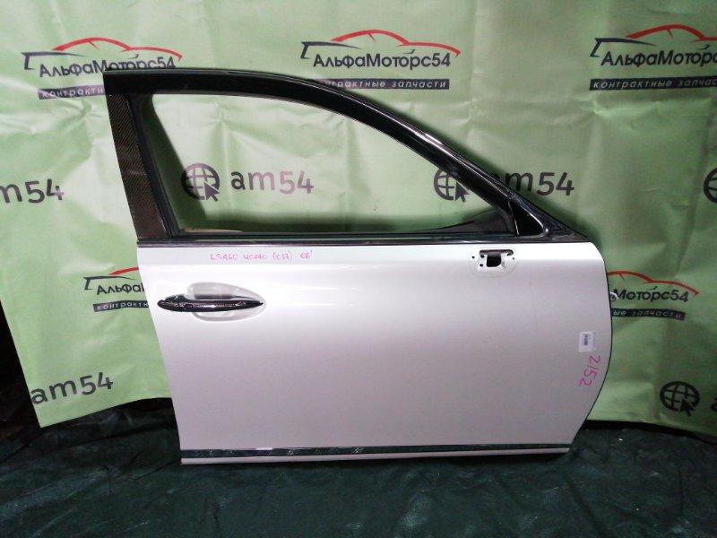 Дверь Lexus Ls460 USF40 1UR-FSE 2006 передняя правая