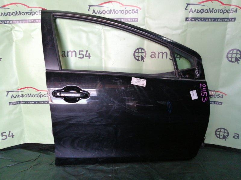 Дверь Toyota Aqua NHP10 1NZ-FXE 2012 передняя правая
